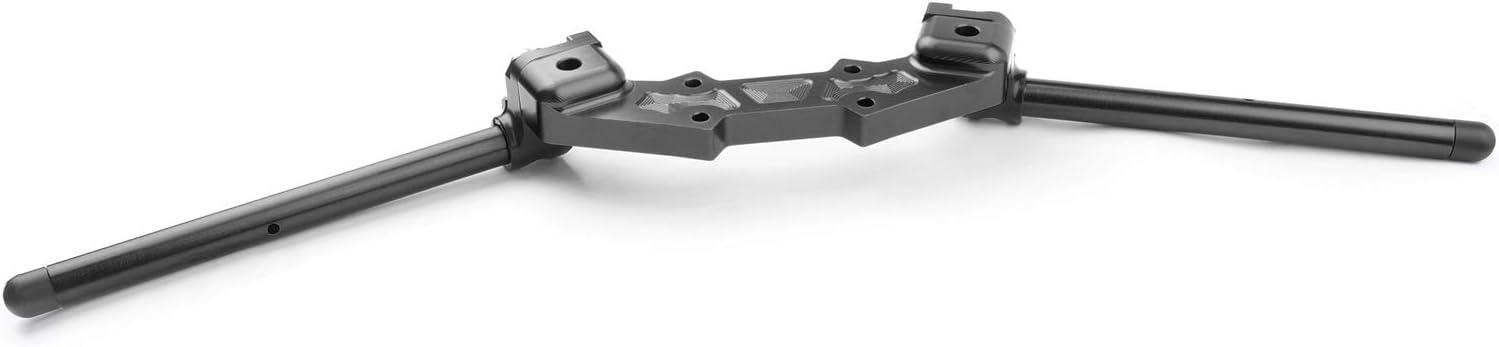 Areyourshop CNC Clipon piastra adattatore /& 22 mm manubrio kit per Z800 2013-2018