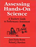 img - for Assessing Hands-On Science: A Teacher's Guide to Performance Assessment (1-Off Series) book / textbook / text book