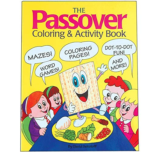 Jet Passover Coloring & Activity Book