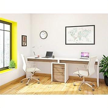 Amazon.com: Nexera liber-t Oficina (3 piezas en blanco con ...