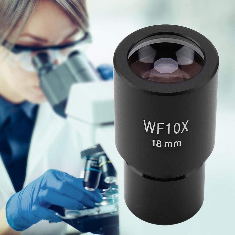 Taidda Eyepiece,Biological Microscopes Eyepiece Widefield Eyepiece DM-WF001 10X Widefield Eyepiece 23.2mm for Biological Microscopes
