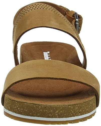 Femme 2 Timberland Slide Marron F13 band Malibu Mules saddle Naturebuck Waves xUaYR