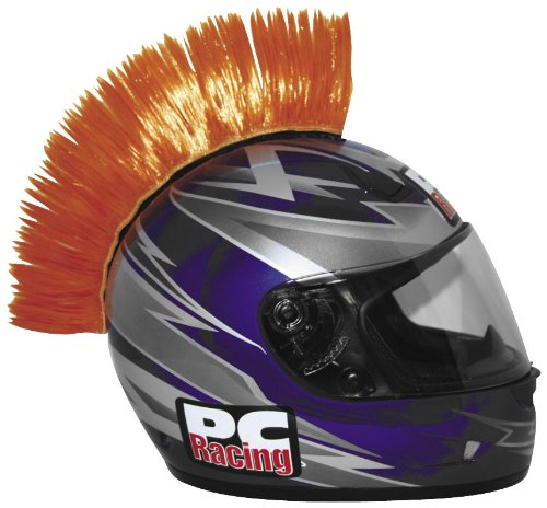 PC Racing Helmet Mohawk, Orange