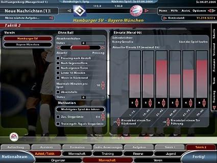 Fussball Manager 2005: Pc: Amazon.De: Games