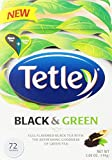Tetley Tea Bags, Black and Green, 72 Count