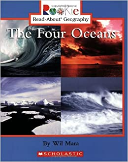 The Four Oceans Rookie ReadAbout Geography Wil Mara - Earth's four oceans