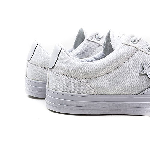 Blanco Player Sneaker Core Unisex adulto Adulte Star Converse Canvas Ox BZqn7zqUO