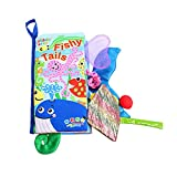 Babyrise Soft Cloth Books Animal Tails Silly Tails Jungly Tails Pets Tails Educational Animal Cloth Books for Toddler, Infants and Kids