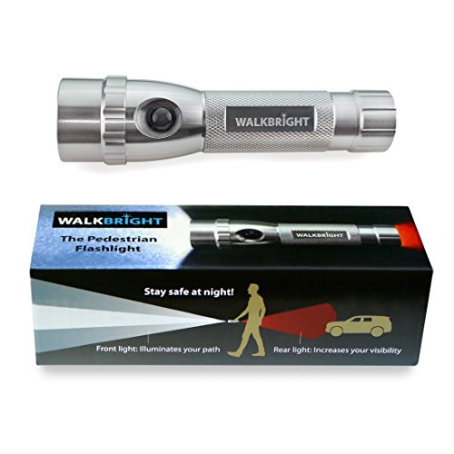 Stay Safe Halloween Night (WALKBRIGHT The Pedestrian Safety Flashlight - Bright Front Light illuminates Your Path - Red Rear Light Provides Visibility from Behind - Stay Safe When You Walk at)