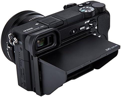 JJC LCD Parasol para Sony Alpha A6500 A6400 A6300 A6000 Kameras ...