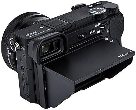 JJC LCD Parasol para Sony Alpha A6500 A6400 A6300 A6000 ...