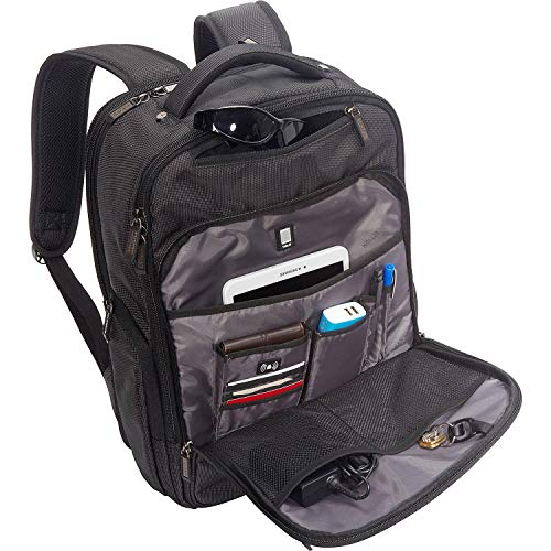 """51HN6ksPWgL - Kenneth Cole Reaction Brooklyn Commuter 16"""" Backpack Pink Dot Charcoal One Size"""