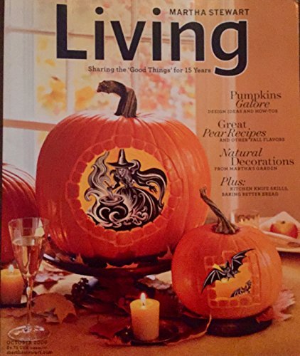 Martha Stewart Living, October 2008 Issue -