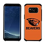Prime Brands Group Textured Team Color Cell Phone Case for Samsung Galaxy S8 - NCAA Licensed Oregon State University Beavers