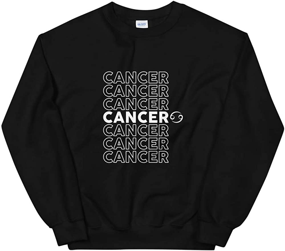 Quotablee Cancer Sweatshirt Astrology Horoscope Cancer Constellation Gift Pullover