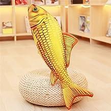 Mynse Cute Fish Plush Toys Golden Carp Throw Pillow Mini Carp