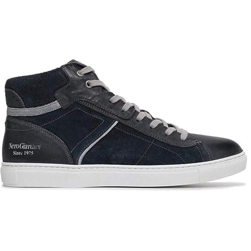 new arrivals 8786b 2874a Nero Giardini Uomo Sneakers Blu P800272U Scarpe Primavera ...