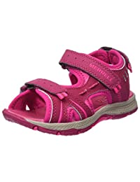 Merrell Girls' Panther Sandal Water Shoe, Berry, 12 M US Little Kid