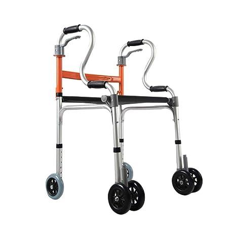 HSZXQ Walker Ligero para peatones Ancianos, los ...