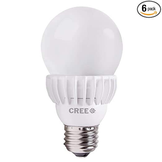 Cree 75W Equivalent Daylight (5000K) A19 LED Light Bulb (6-pack) - - Amazon.com