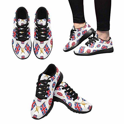 InterestPrint Womens Jogging Running Sneaker Lightweight Go Easy Walking Comfort Sports Running Shoes Multi 10 YjkMPdNt