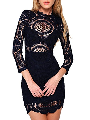 Choies Womens Black Bodycon Sleeve