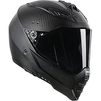Amazon.com: AGV AX-8 Dual Sport Evo Helmet (Matte Carbon