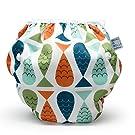 Nageuret Premium Reusable Baby Swim Diapers By Beau & Belle Littles,Adjustable Fits Babies 0-36 Months, 8-36 Lbs(FISH)