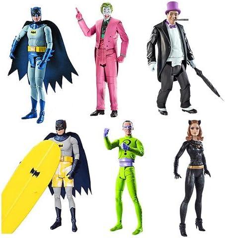 Batman Batman 66 Classic TV Show Retro Style 8 Inch Figures Surfing Series