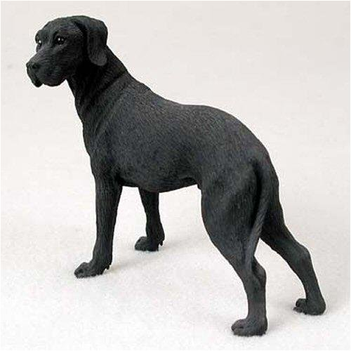 Black Original Dog Figurine (Great Dane, Black, Uncropped Original Dog Figurine (4in-5in))