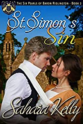St. Simon's Sin: A Risqué Regency Romance (The Six Pearls of Baron Ridlington Book 2)