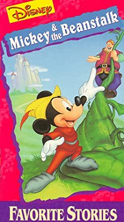 Amazon.com: Mickey & the Beanstalk [VHS]: Walt Disney, Clarence ...