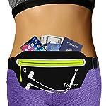 AIKENDO Slim iPhone Running Pouch Belt,Bounce Free Running Waist Pack iPhone X XR 7 8 Plus,Ultra Light Runners Belt for Men Women,Reflective Phone Holder for Running