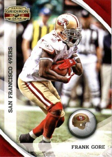 2010 Upper Deck Gridiron - 2010 Panini Gridiron Gear Football Card #126 Frank Gore - San Francisco 49ers - NFL Trading Card