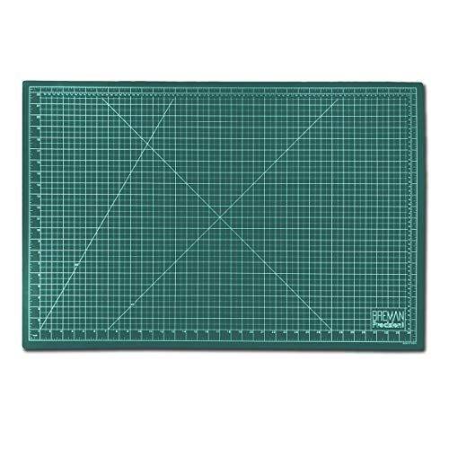 Large Self Healing Cutting Mat Professional Double Sided Flexible Fabric Rotary Mat Ideal for All Arts & Crafts Including Sewing QuiltingA1(36X24) Inches