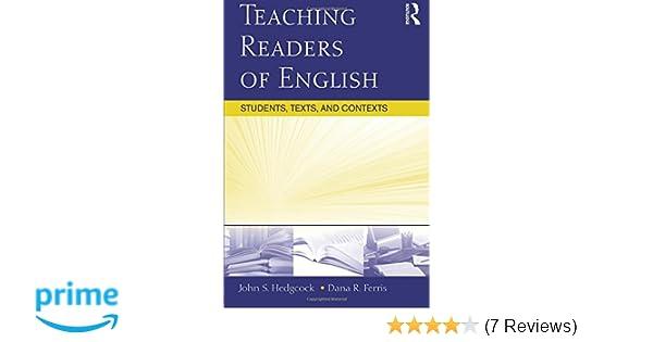 teaching readers of english ferris dana r hedgcock john