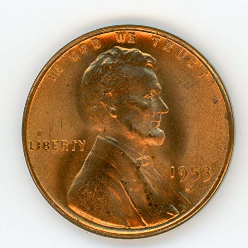 1953 S Lincoln Cent MS-65