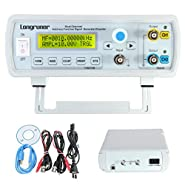 Longruner 24MHz Dual-channel DDS Function Signal Generator, High Precision Arbitray Waveform Generator FY3224S