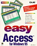 Easy Access for Windows 95, Jeff Byrna, 0789706075