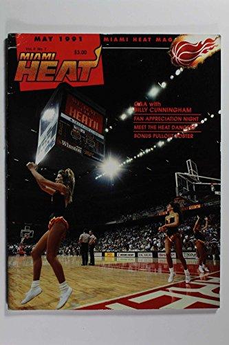 Cheerleader Heat - MAY 1991 MIAMI HEAT MAGAZINE BILLY CUNNINGHAM CHEERLEADERS