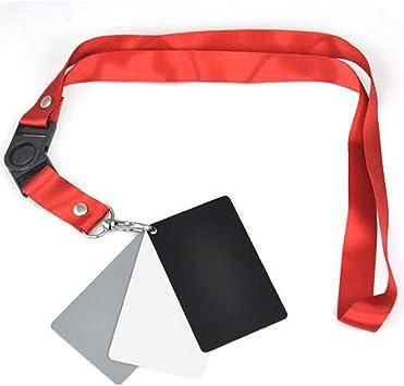 3 en 1 exposición//balance 18/% Gris Gris//Blanco//Negro Cordón y juego de tarjetas