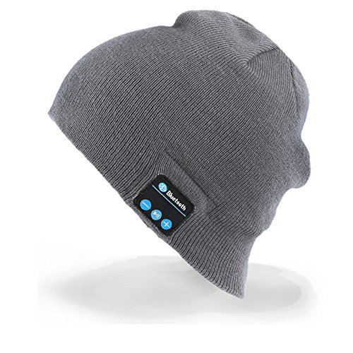 Momoday Bluetooth Music Soft Warm Beanie Hat Cap with Stereo Headphone Headset...