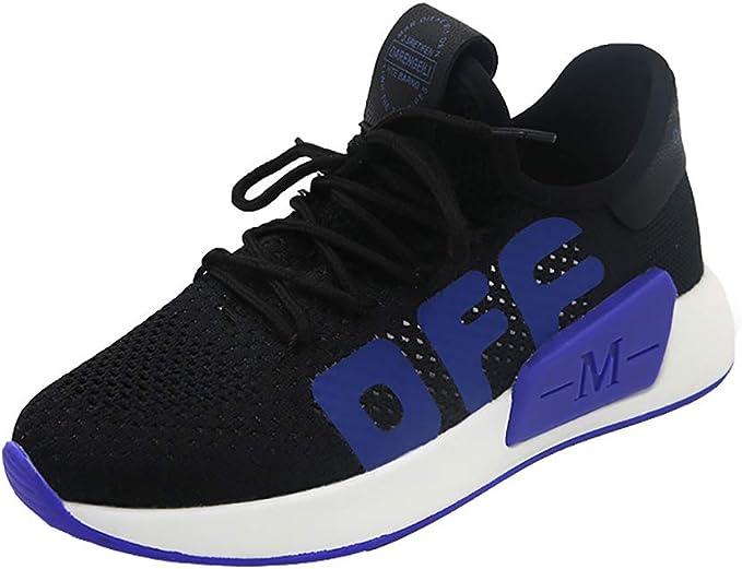 Sneakers de mujer zapatillas de Running Fly tejida transpirable ...