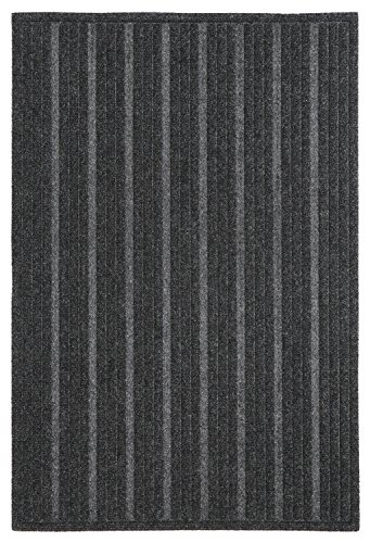 - Mohawk Home Impressions Ribbed Charcoal Door Mat, 2'x3'