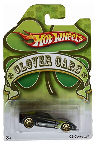 Hot Wheels Clover Cars [Black/Green] C6 Corvette