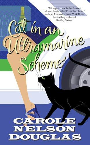 book cover of Cat in an Ultramarine Scheme