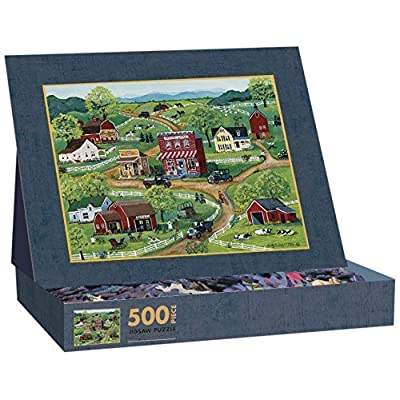 Lang General Store By Mary Singleton Jigsaw Puzzle 500 Piece By Lang
