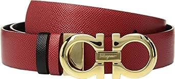 Amazon.com: Salvatore Ferragamo Women's Gancini Logo Belt ...