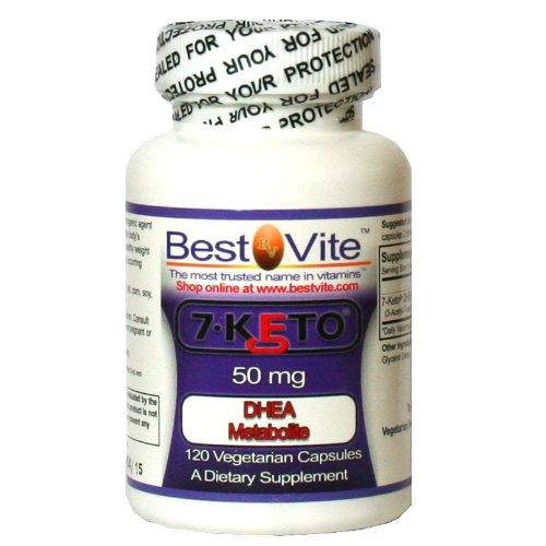 7-Keto 50 mg de DHEA (120 Vegetarian Capsules)