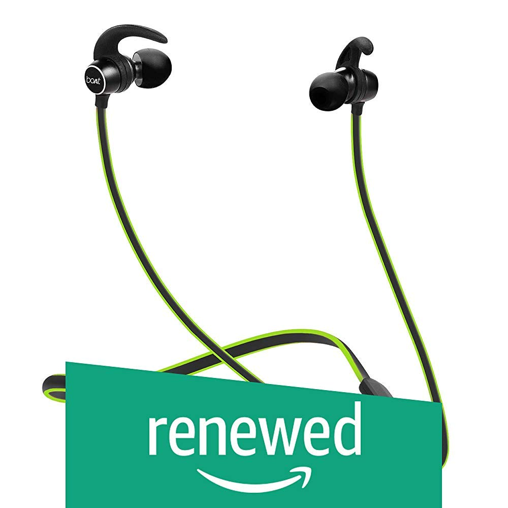Amazon price history for (Renewed) boAt Rockerz 255 Sports Bluetooth Wireless Earphone with Immersive Stereo Sound and Hands Free Mic (Neon)